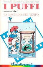 I PUFFI La Macchina Del Tempo (1986) VHS ORIGINALE 1ª EDIZIONE INEDITA IN HV