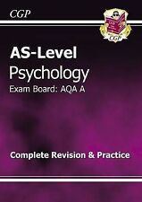 AS-Level Psychology AQA a Complete Revision & Practice by CGP Books (Paperback)