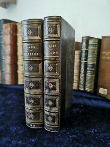 Homère Iliade et Odyssée - De Lisle - Lemerre 1893 complet 2 vols Livre ancien