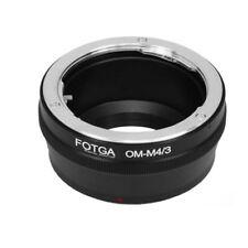 Olympus OM Lens To Micro 4/3 M4/3 Adapter For E-P5 E-PL5 E-PL6 GF6 GF2 G2 GH1 G5
