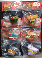 UNBOX INDUSTRIES x TOO NATTHAPONG SET 6 ELFIE BURGER LOT SEALED  MOLLY DUNNY