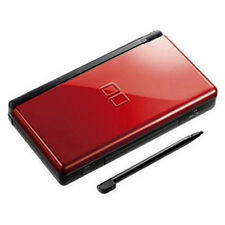 Neuf Crimson Black Nintendo ds lite Console System and free Protect Films NDSL