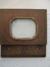 RARE VINTAGE GOLDEN VIEW MOTOROLA TELEVISION (FACE ONLY)