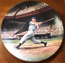 Rare Joe DiMaggio Autographed Signed The Streak Limited Plate by Stephen Gardner