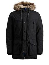 Jack & Jones Originals Parka Jacket Mens Classic Winter Parker Coat JORExplore
