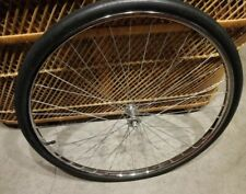Vtg 1959 Ukai Bicycle Front Rim wheel Tire 26x1 3/8 w/o  OEM Replacement  Skyway