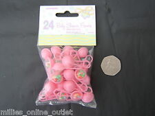Baby Shower Girl Favors/Party/Tableware/For Games/Decorations Mini Rattles