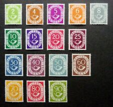 Bund ** postfrisch Posthornsatz 1951 = 2.500,- EURO