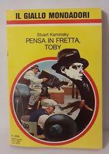 L54> Il giallo Mondadori n.2091 Anno 1989 Pensa in fretta, Toby