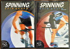 Brand New Sealed Spinning Spin & Burn, Spinning Spin & Slim DVDs