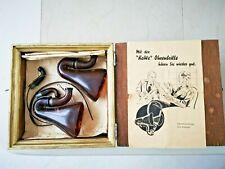 Antique Original German 1950 Kawe bakelite ear device in original box RARE!