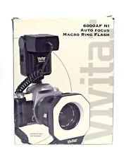 Vivitar 6000AF NI Auto Focus Macro Ring Flash