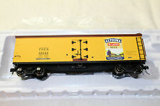 3002542 Altoona 36 Lager Beer 40' Wood Side Reefer Car 2 Rail NEW IN BOX