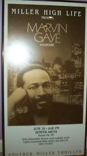 Motown Marvin Gaye Vintage Final Concert Tour Poster Boxing Print