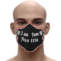Designer Maske I AM FROM AUSTRIA Edel gestickter  lustiger Atemschutz