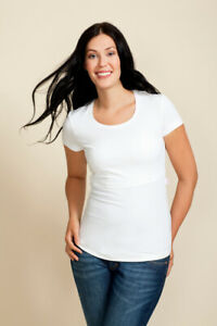 Boob Nursing Top - classic short sleeve breastfeeding top - all sizes