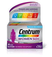 Centrum Multivitamins Women 50+ WORLD'S NO.1 VITAMINS Pfizer More Vitamin D