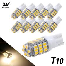 10x T10921194 Rv Camper Trailer 12v Led Interior Light Bulbs 42 Smd Warm White Fits Tacoma