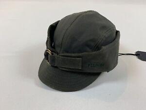 FILSON TIN CLOTH WILDFOWL HAT OTTER GREEN SIZE XL NWT