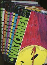 Watchmen 1,2,3,4,5,6,7,8,9,10,11,12 (of 12) (1986-1987) ^12 Book Lot^ DC Comics!