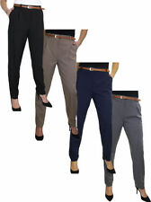 Mid Rise Regular Size Tailored 30L Trousers for Women