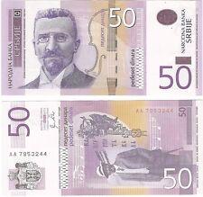 Serbia 50 Dinara 2011 P-6a NEUF NEU UNC Uncirculated Banknote