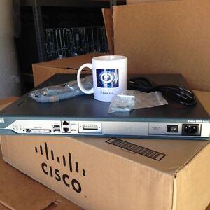 *Ship Fast* CISCO CISCO2811-SRST/K9 Voice Bundle w/ 1 Year warranty *tested*