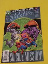 1991 ADVENTURES OF SUPERMAN #593 FINE COMIC BOOK  DC Comic SUICIDE MISSION