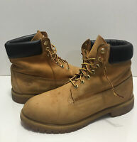 Timberland Men's Classic Boots BROWN/TAN Leather & Suede Size 12m
