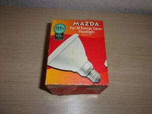 Mazda par 38 energy saver floodlight bulb 120w screw cap