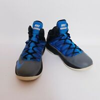 Nike Air Max Stutter Step Mens US 8.5 black blue HiTop Sneakers Shoes 599565-005