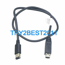 1394 B FireWire 800 9-Pin to 6-Pin M/M iLink DV Cable For Sony Mac 2FT