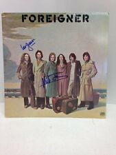 Foreigner **FOREIGNER'** Signed & Certified LP cover with vinyl record -GV529226