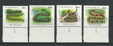 Salvador 1980 Local Snakes theme (Scott 929-30, C477-78 complete) Vf Mnh