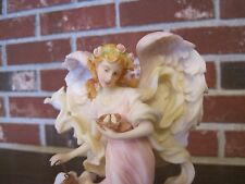"1999 SERAPHIM CLASSICS ANGEL LEAH ""BLESS OUR HOME"" ITEM #81662"