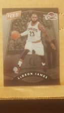 LeBron James 2017 The National Card No. 37 Cleveland Cavaliers