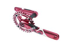 MOWA Five MTB Cycling 10/11 Speed Crankset 36T for Shimano/Sram 175mm Red