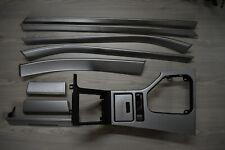 BMW E39 Silver Aluminum  Interior Trim Set 9 Piece OEM