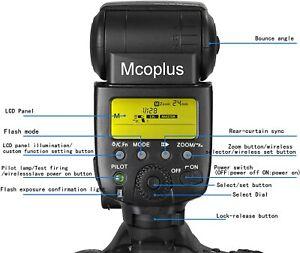 CameraPlus® CPN580 TTL Speedlite Flash GN58 LCD Screen for Nikon SLR Nikon SB900