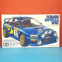 Tamiya 1/24 Subaru Impreza [WRX] WRC '98 Monte-Carlo model kit #24199