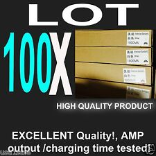 Lot 100 X Wall Charger AC Power Adapter Excellent QUALITY For iPhone 4 s 5 s 6 +