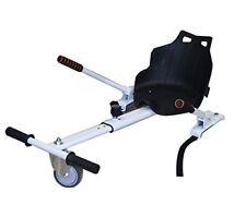 Asiento acople Kart para patinete electrico hoverboard hoverkat silla blanca