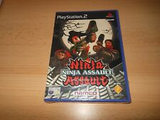 Ninja Assault Sony PlayStation 2 UK Pal,  NAMCO NEW SEALED