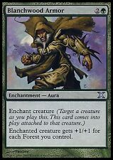 Blanchwood Armor  -LP- 10th Edition Core Tenth MTG  Magic Cards Green Uncommon