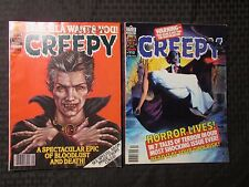 1979 CREEPY Warren Horror Magazine LOT of 2 Issues #111 VF- 112 FVF Corben