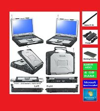 Panasonic CF-30 Laptop-Notebook+500GB+Windows 7+Touchscreen+Stylus+Wifi+word app