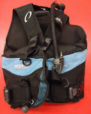 Oceanic Flex Dive Scuba Diving Men's BCD Buoyancy Compensator LG (USED)