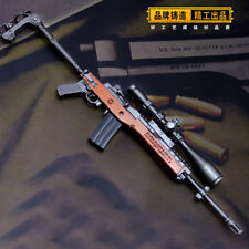 TOY 1/6 PUBG Sturm Mini-14 sniping rifle gun BattleField4 Battleground Metal