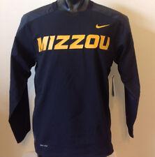 Missouri Tigers Black Nike Dri Fit Wind/Pullover Size S #581638