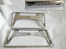 Nissan Genuine JDM Plate japan License Plates Frame Holder p11 Q45 Z32 A31 S13